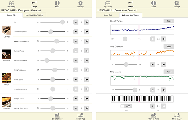 Piano Designer for iPad