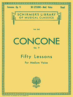 Concone 50 Lessons OP. 9